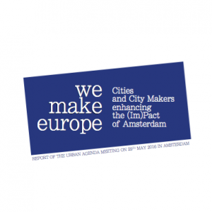 We Make Europe Report Cover