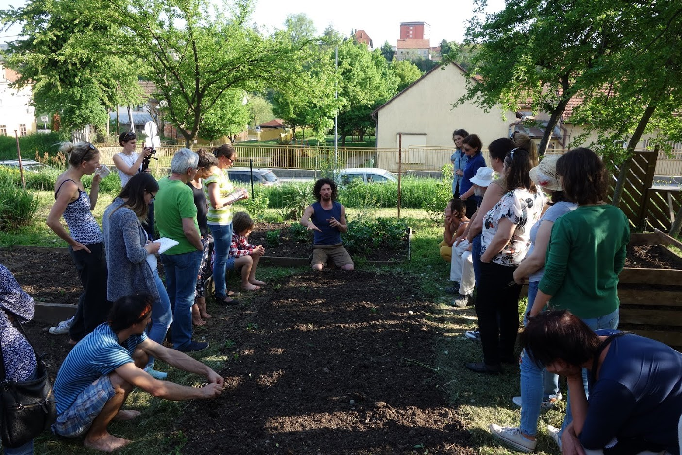 Urban garden workshops. Source (c) Urban Soil 4 Food