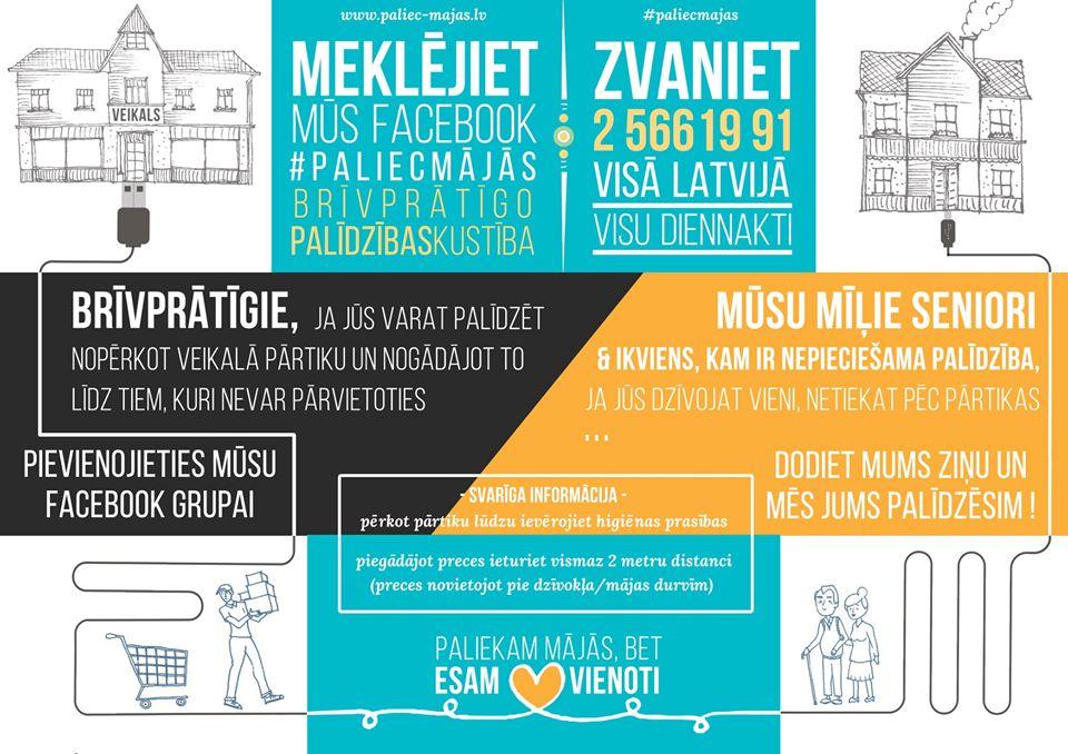 A Riga ci si può registrare http://www.paliec-majas.lv per trovare soddisfazione a specifici bisogni nei dintorni